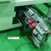 引出式制御盤の紹介(スライドレールで装置内に収納、メンテ時などは引き出し可能)